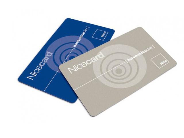 Бесконтактная карточка NICE MOCARD