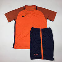Футбольная форма Replica Nike оранжево-темносиняя