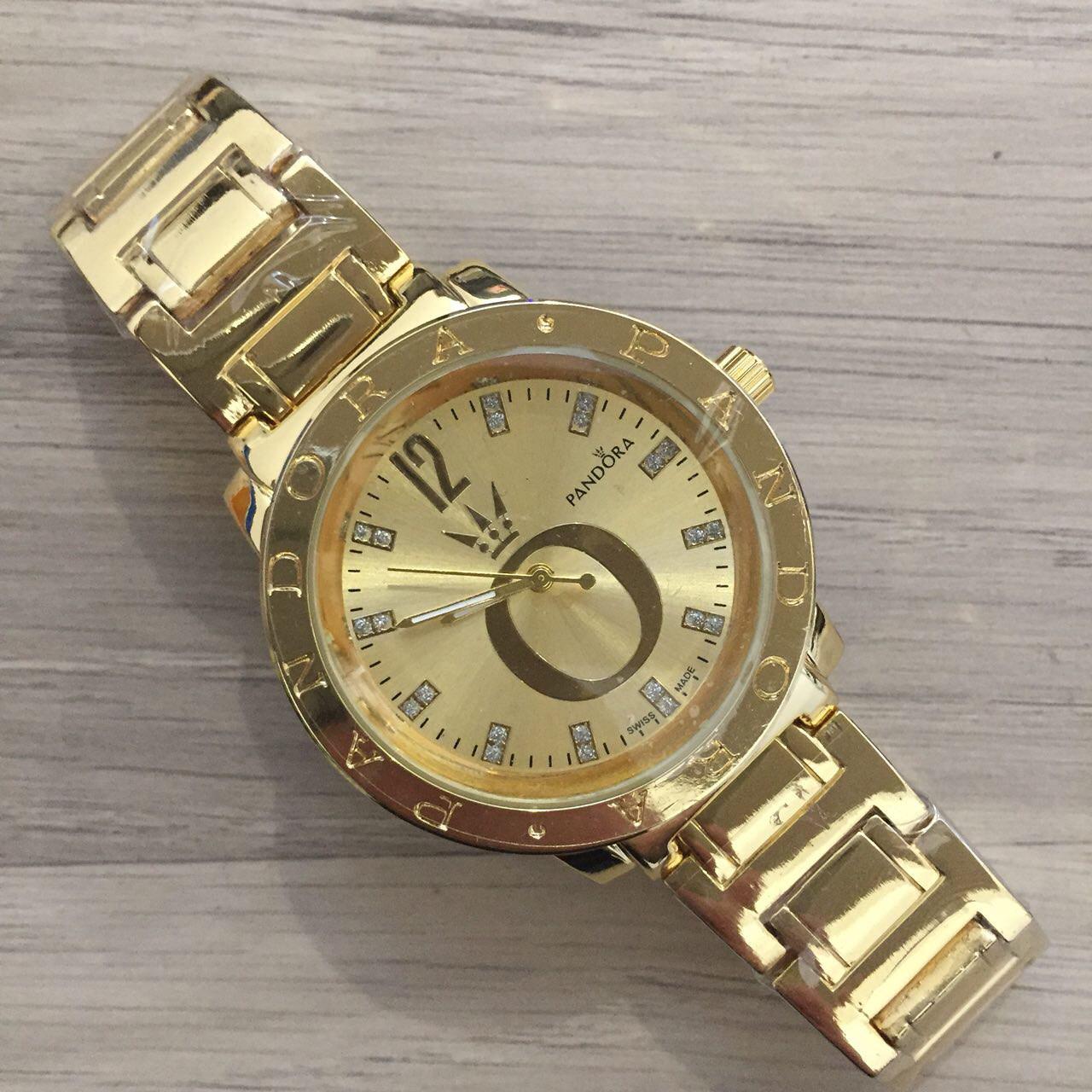Женские Наручные Часы Pandora (Пандора), Золотой Корпус и Циферблат — в  Категории