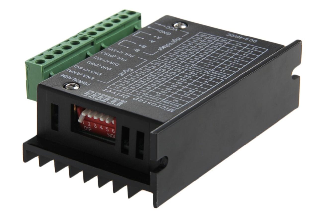 Контроллер/драйвер шагового двигателя ЧПУ TB6600. 4 A  9-40 В
