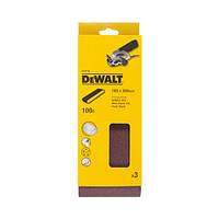 Шлифлента зерно 100 (3 шт.) DeWALT DT3316 (США/Швейцария)