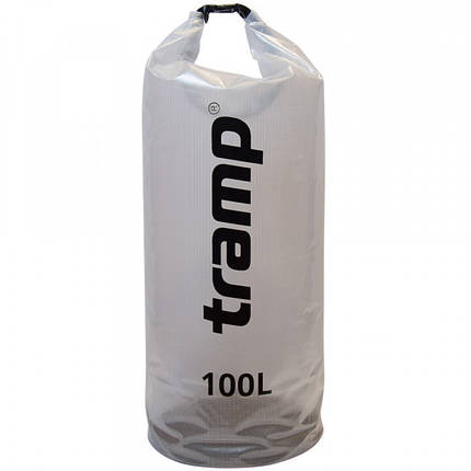 Гермомешок прозорий 100л Tramp TRA-109, фото 2