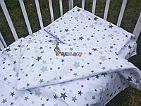 Постельный набор в детскую кроватку (3 предмета) Звездочка 2, фото 1