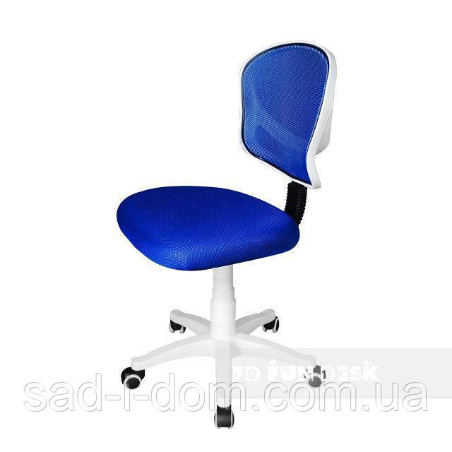 Детское компьютерное ортопедическое кресло FunDesk LST6, голубое