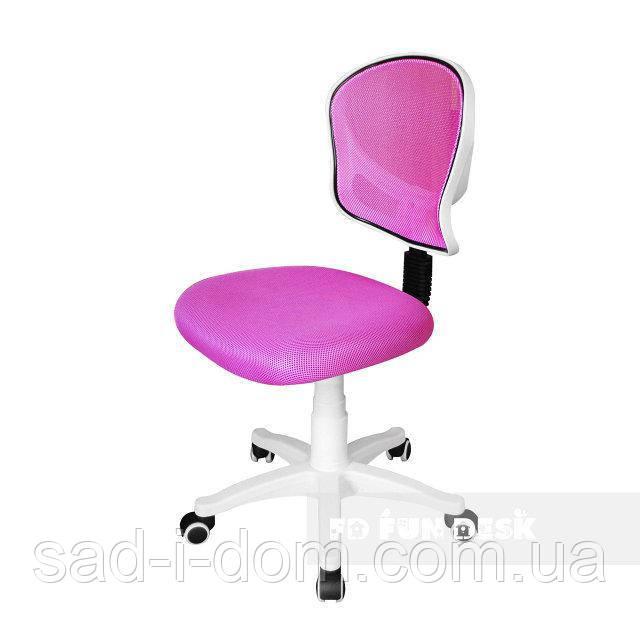 Детское компьютерное ортопедическое кресло FunDesk LST6, розовое