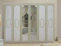 Примула Шкаф 6Д (с зеркалом), фото 1