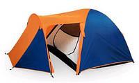 Палатка трехместная Coleman 1504, двухслойная