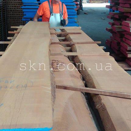 Доска дуба необрезная сухая 30мм 2-й сорт, фото 2