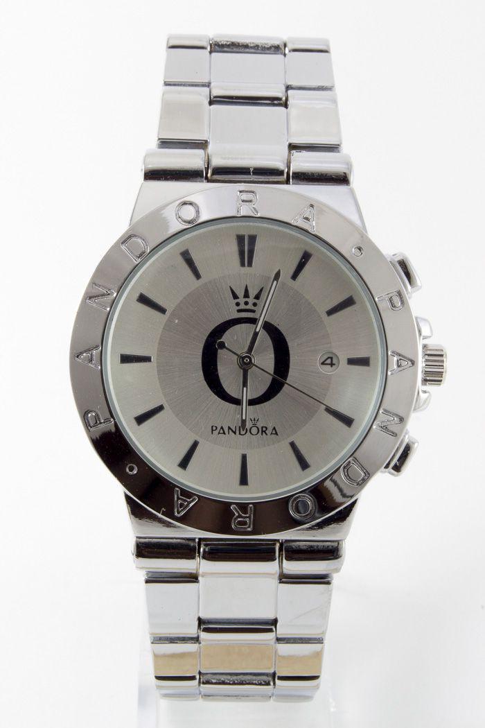Женские наручные часы Pandora (Пандора), цвет корпусанержавеющая стальи серебристыйциферблат
