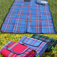 Плед покрывало коврик  200*140 для пикника и пляжа, оптом и в розницу