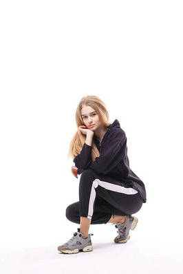 Спортивные штаны женские  Band ,Black , бренд Red and Dog