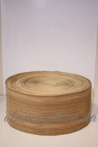 Обтяжка для каблука, кожа, 12 см, цв. светло-коричневый, фото 2