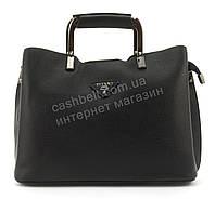 Качественная стильная прочная женская сумка с эко кожи высокого качества DIYANI art. A-553 черная, фото 1