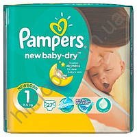 Подгузники Pampers New Baby-Dry 1 (2-5кг) 27шт