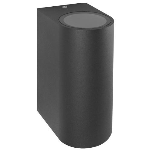 Фасадный уличный светильник DH015 2хGU10 серый IP54 Код.59330