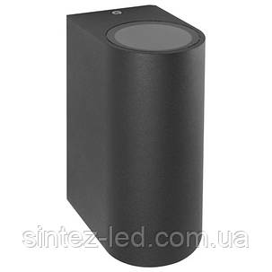Фасадный уличный светильник DH015 2хGU10 серый IP54 Код.59330, фото 2