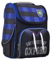 Рюкзак шкільний каркасний для хлопчика 1 ВЕРЕСНЯ H-11 Oxford 555130, 33.5 * 26 * 13.5 см