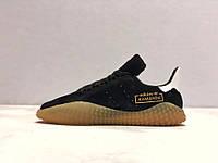 Кроссовки мужские в стиле Adidas Kamanda код товара Z-1506. Черные