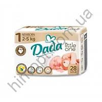 Подгузники Dada Newborn 1 (2-5 кг), 28 шт