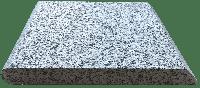 Копинговый камень из Гранита - Серый 28 х 100 см. Бортовой камень для бассейна.