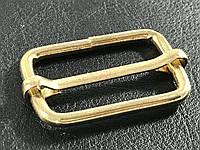 Рамка металлическая с перемычкой цвет золото 33 мм