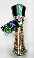 Микс перцев Gourmet Green Chili Mix в многоразовой мельнице (острый), 45 г.