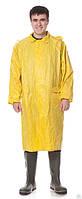 Плащ влагозащитный (нейлон + ПВХ покрытие) Жёлтый