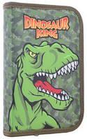 Пенал Smart твердый одинарный Dinosaur 20.5*13*3.2 с клапаном