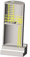 Лестницы и ограждения для канализационных колодцев