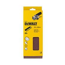 Шлифлента зерно 80 (3 шт.) DeWALT DT3315 (США/Швейцария)
