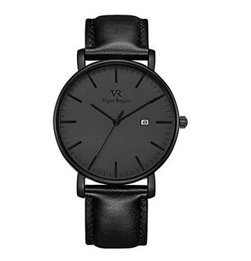 Стильные мужские наручные кварцевые часы Vigor Rigger