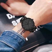Стильные мужские наручные кварцевые часы Vigor Rigger, фото 2