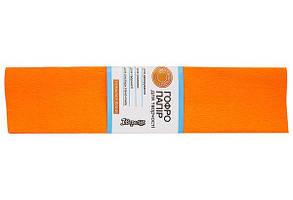 Бумага ГОФРО 1 ВЕРЕСНЯ 55% оранжевая (50см*200см) 20шт/уп