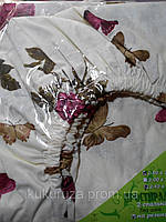 Простынь-резинка  90х200 Бабочка Бордо