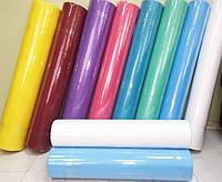 Простыни одноразовые в рулоне 0.6х100 м, 23 г/м2 (цветные)