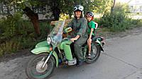 Мотоцикл МТ16, 1991г.в. Тюнингован для туризма, с ведущей коляской