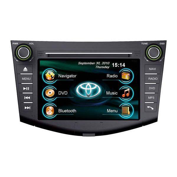 Мультимедийный навигационный комплекс RoadRover Toyota RAV4 2006-2012