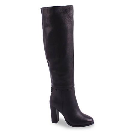 Модные женские ботфорты Deenoor(зимние, на каблуке, удобные, на замке, теплые, удобные, бренд)