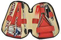 Маникюрный набор красный КДС 04-8103