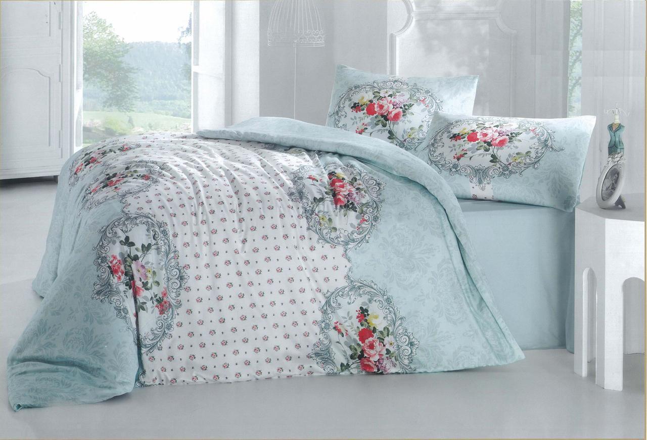 a77f691c750e Комплект постельного белья Евро двуспальный Бязь/Голд