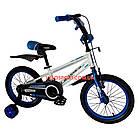 Детский велосипед Crosser Sports 16 дюймов бело-синий, фото 2