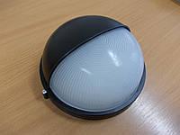Светильник НПП1103 черный/круг п/сфера 100Вт, фото 1
