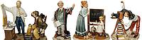 Смешные-фигурки людей-статуэтки профессии