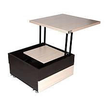 Журнальный раскладной столик стол трансформер FlashNika / ФлешНика Ника 6, фото 3