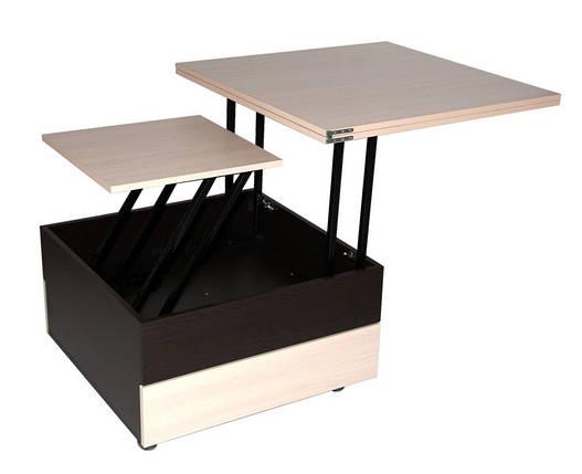 Журнальный раскладной столик стол трансформер FlashNika / ФлешНика Ника 6, фото 2