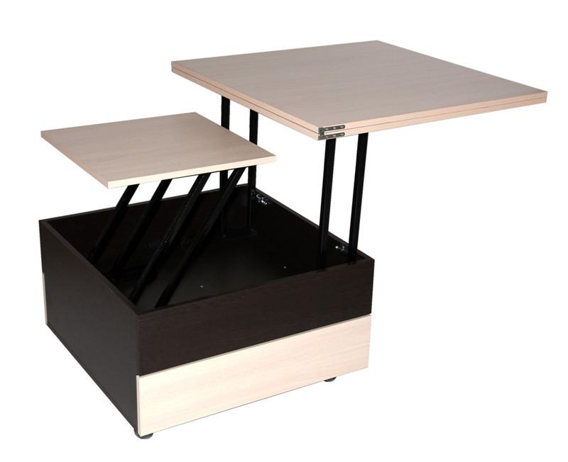 Журнальный раскладной столик стол трансформер FlashNika / ФлешНика Ника 6