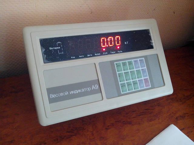 Весовой индикатор A9