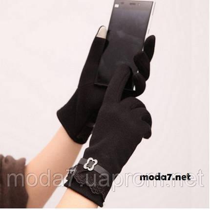 Женские перчатки для сенсора 3 цвета, фото 2