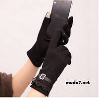 Женские перчатки для сенсора 3 цвета