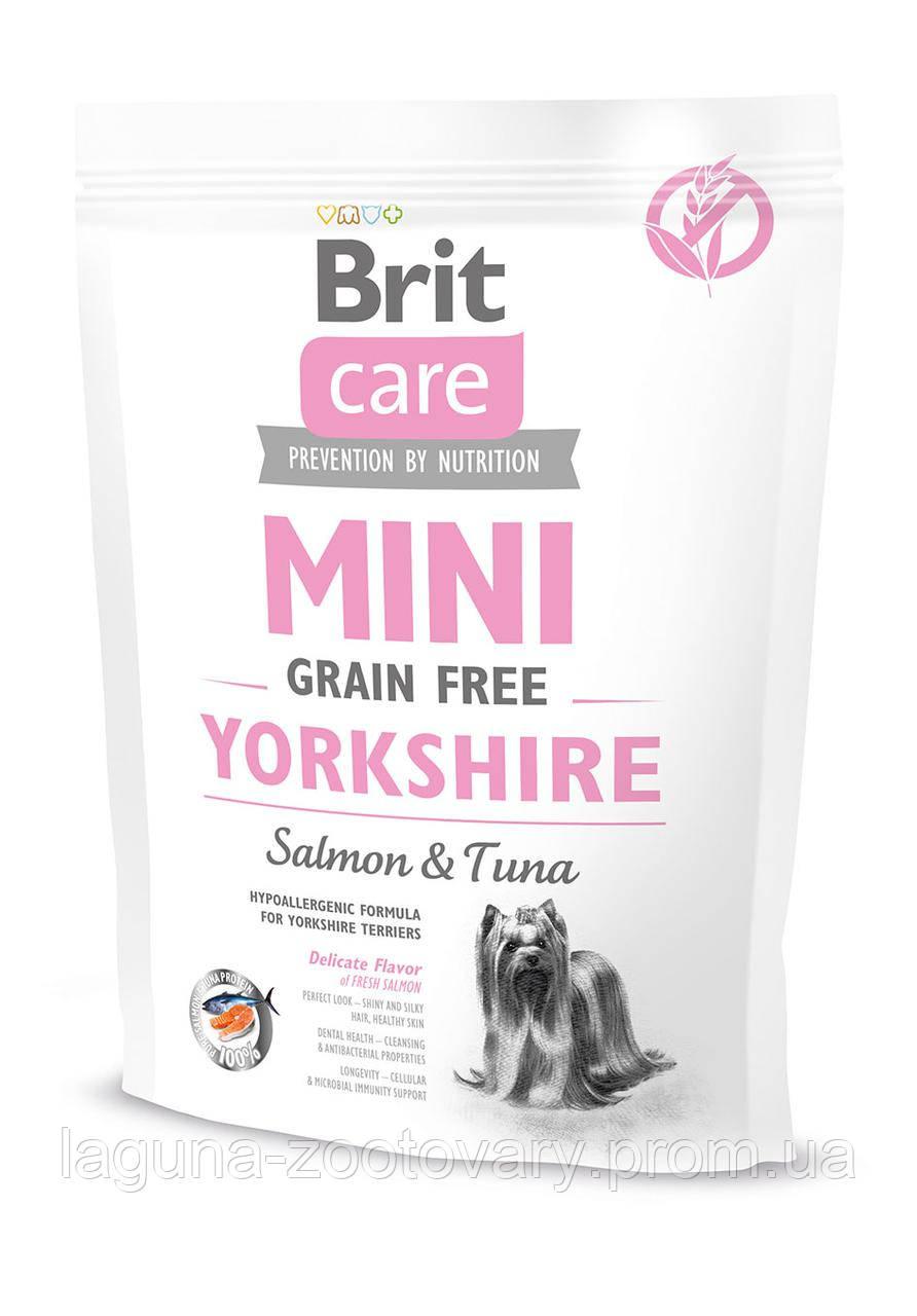 Brit Care GF Mini Yorkshire 0,4 kg (д/собак малых пород)